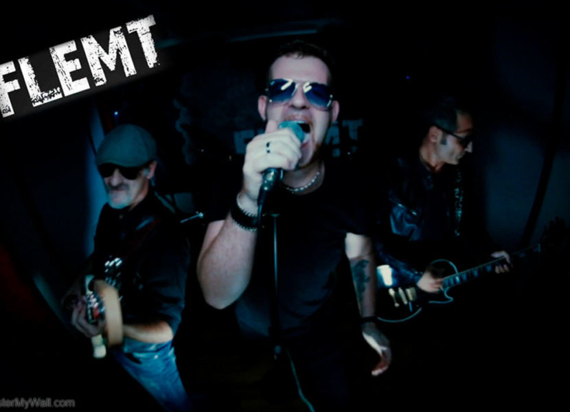 Flemt rock band live concert