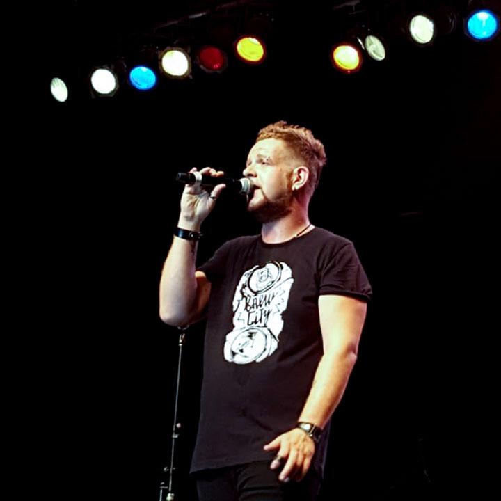 Patrik Pambianco vocalist
