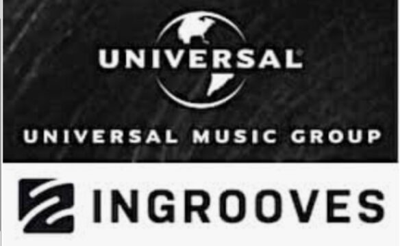ingroove with Universal logo